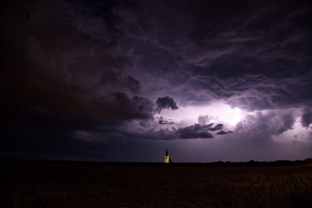 Lightning church Den Hoorn Texel