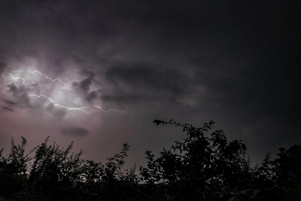 Thunderstorm Texel 14-08-2020