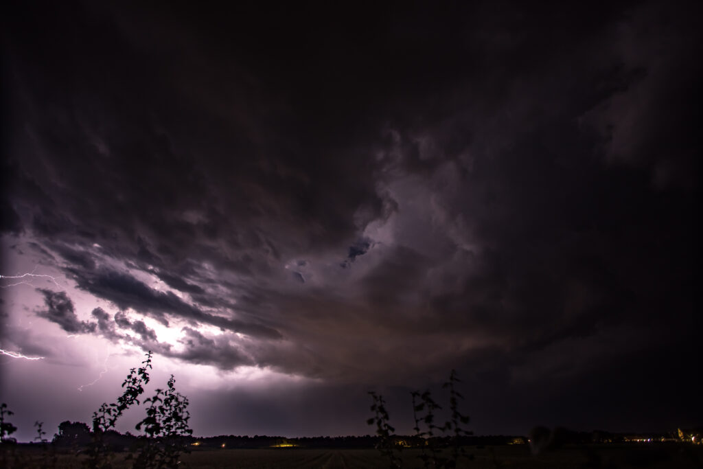 Thunderstorm Texel 20-08-2020